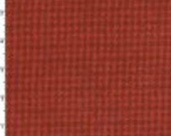 Woolies flannel by Maywood Studios  orange houndstooth