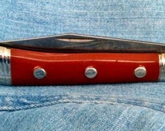 Richards Cutlery Pocket Knife; Sheffield, England Nos