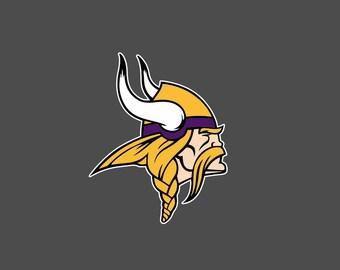 Full Color Minnesota Vikings - Die Cut Decal