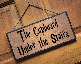 The Cupboard Under the Stairs...Great gift item for Harry Potter fans!