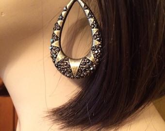 Hematite earrings I