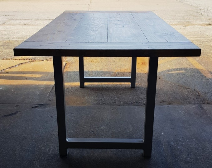 Steel Table Legs, Industrial Legs, Modern Table Legs, Bench Legs, Coffe  Table