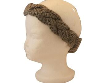 Braided Earwarmer, 9 Months-3 Years,  Crochet