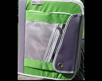 Reduced Price!! Get your own Extreme Couponer's - 3-Ring Zippered Coupon Binder Best Way to Organize ~ Beautiful Vibrant Green!