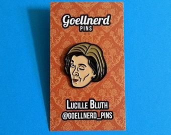 Arrested Development Lucille Bluth Pin Winking Gifts Soft Enamel TV Show