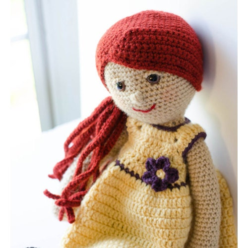 Crochet Doll Pattern Amigurumi Pdf Instant Download Delia