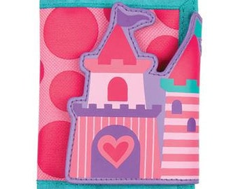Girls Castle Wallet with Velcro Closure
