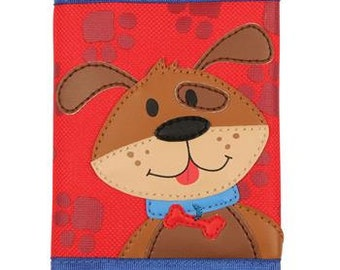 Boy's Dog Wallet with Velcro Closure
