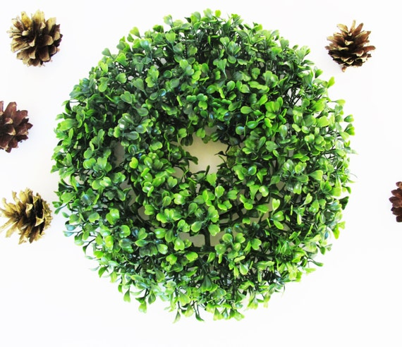 Sale mini boxwood wreath artificial wreaths high quanlity plants 10 6