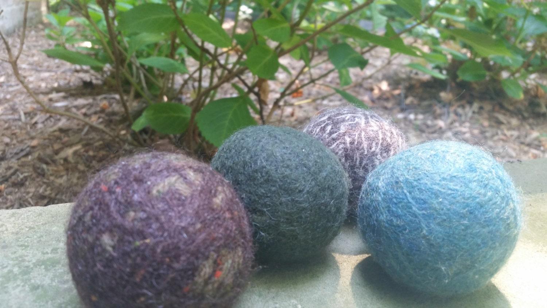 Dark Color Wool Dryer Balls Natural 100 Wool Dryer Ball