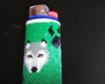 Wolf Lighter cover