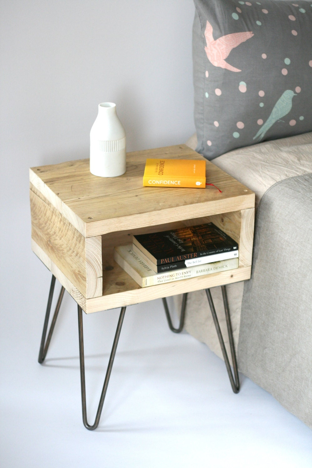 Blondie Bedside Table Handmade Side Table Made From Reclaimed