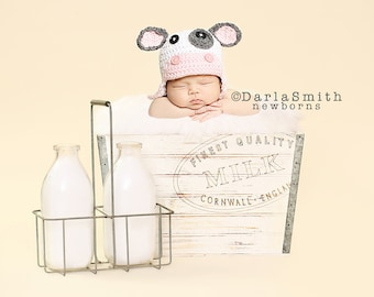 Digital Studio Backdrop Download Vintage Milk Crate Prop Newborn Baby Photography
