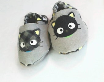 Baby Crib Shoes - Kitten Themed Booties