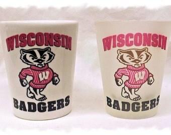 University of Wisconsin Badgers Shot Glass