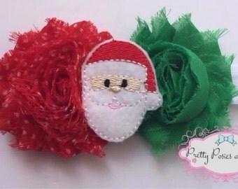 Santa Headband, Santa Baby Headband, Christmas Headband