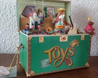 Vintage Enesco Toy Symphony music box