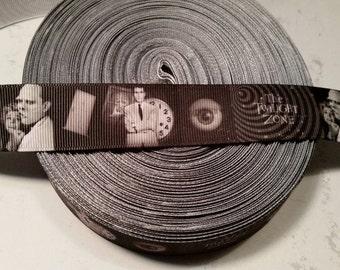 Science Fiction grosgrain ribbon, The Twilight Zone, Horror ribbon, SciFi