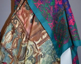 Beautiful & Colorful Vintage Scarves
