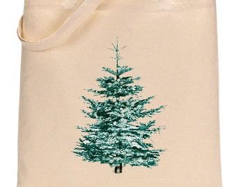 Canvas Tote - Christmas Tree