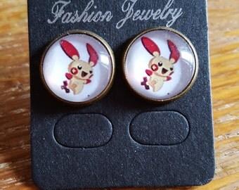 Plusle Earrings