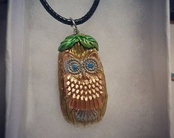owl necklace ,owl pendant