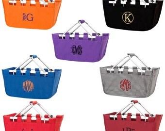Large Market Tote Basket, Tailgate Basket, Picnic Basket, Toy Basket