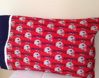 New England Patriots pillowcase