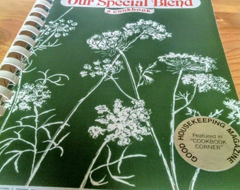 Our Special Blend Vintage Cook Book  1984