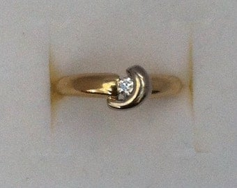 Gold Dimond ring