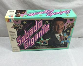 Sabado Gigante Game Milton Bradley 1990 COMPLETE