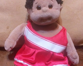 Vintage African American Beanie Baby..Even Has Belly Button..So cute