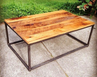 """48"""" industrial coffee table"""