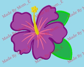 Tropical Flower Applique