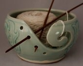 Scottish Thistle Yarn Bowl