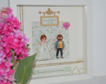 Picture Bride and groom wedding playmobil