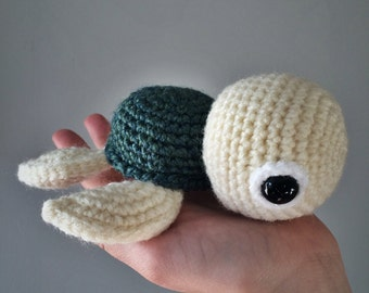 Sea Turtle amigurumi crochet doll