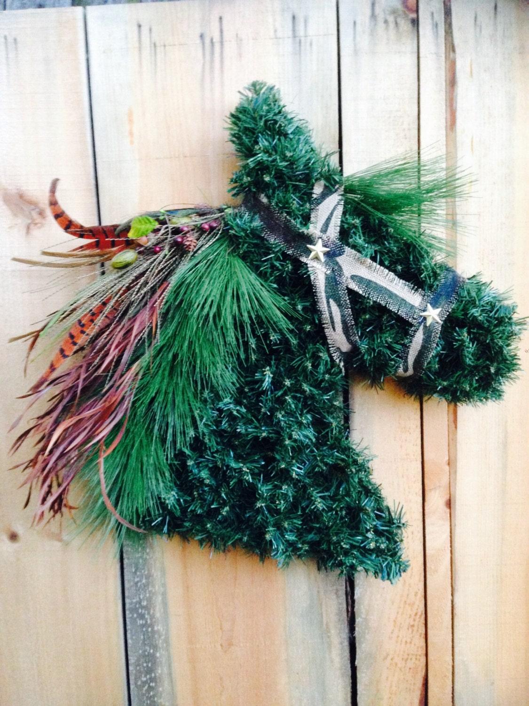 Horse Head Wreath Horsehead Wreath Orse Head Wreaths