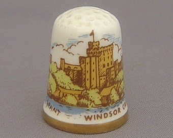 Caverswall Thimble - Windsor Castle