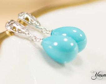 Turquoise dream of Silver Ornament