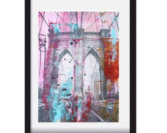 painting abstract painting original painting  new york  Modern painting  by jolina anthony