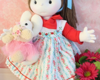 Clara,soft doll and her BFF/ FREE shippinReady to go!!