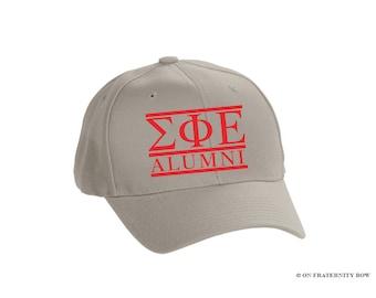 SigEp Sigma Phi Epsilon Fraternity Alumni Custom Baseball Hat
