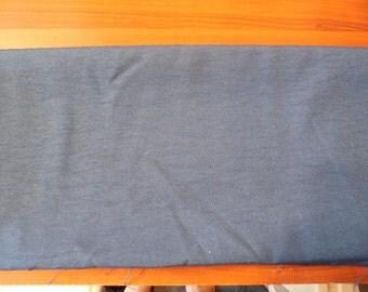 Destash- Navy Blue Suiting Fabric Remnant