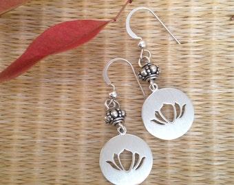 Lotus Window Earrings