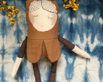 Flower bud doll