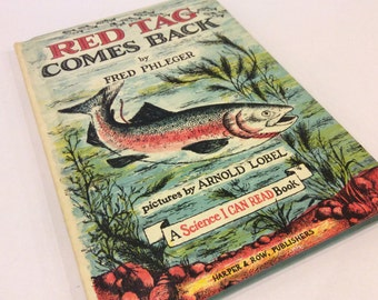 Pristine Condition - Red Tag Comes Back - Children's Science I Can Read Book - Arnold Lobel