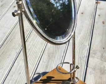 Charming vintage shaving mirror
