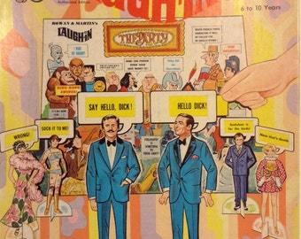 Rowan and Martin's 1969 Laugh-In Paper Dolls Party
