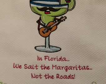 Margarita Embroidered Towel